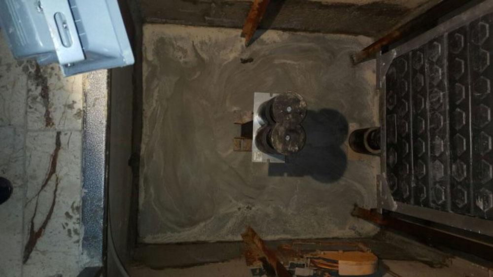 Teskim Asansör kuyusu su yalıtımı